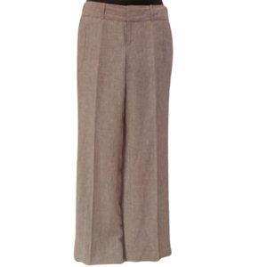 Banana Republic Martin Fit Linen Pinstripe Trouser